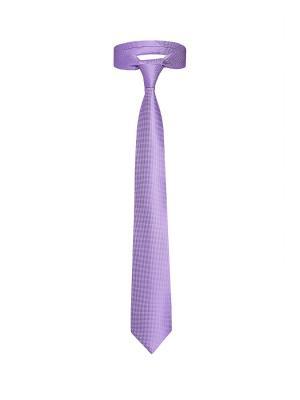 Классический галстук Прием в Берлине мелкий ромб Signature A.P.. Цвет: сиреневый, белый