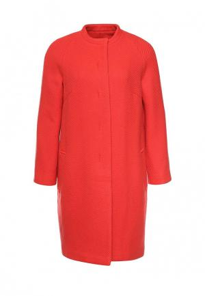 Пальто Immagi. Цвет: красный