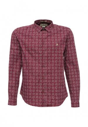 Рубашка MCS. Цвет: бордовый