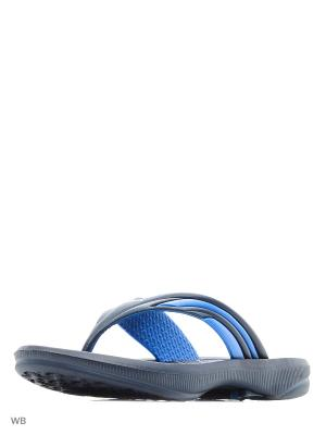 Тапочки DIADORA. Цвет: синий