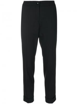 Укороченные строгие брюки Etro. Цвет: чёрный