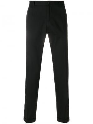 Классические брюки-чинос Dolce & Gabbana. Цвет: чёрный