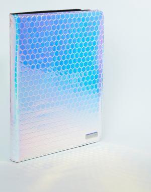 Skinnydip Переливающийся чехол для iPad. Цвет: мульти