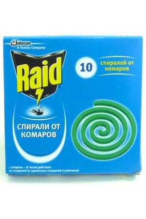 Спираль от комаров RAID. Цвет: none