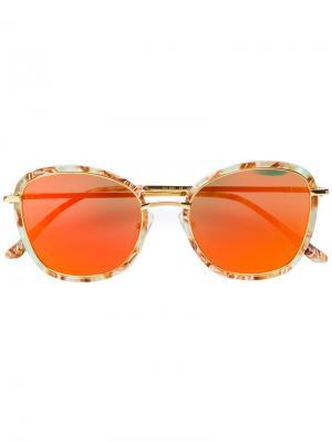 Солнцезащитные очки Switch Back Gentle Monster. Цвет: зелёный