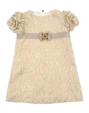 Платье I PINCO PALLINO I&S CAVALLERI. Цвет: песочный