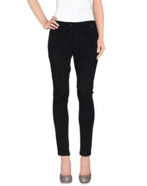 Повседневные брюки ACCIAIO. Цвет: черный