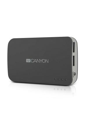 Зарядное устройство CNE-CPB78BL CANYON. Цвет: серый