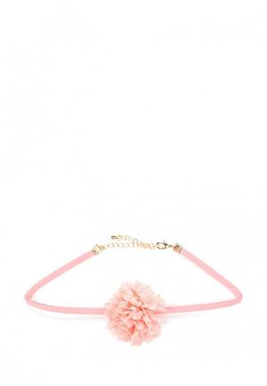 Чокер Modis. Цвет: розовый