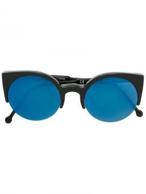 Солнцезащитные очки Lucia Retrosuperfuture. Цвет: чёрный