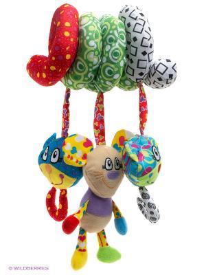 Развивающая игрушка Кот и мышонок Жирафики. Цвет: зеленый, красный