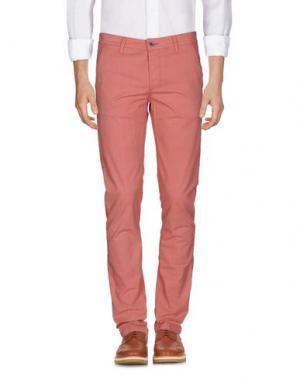 Повседневные брюки CAMOUFLAGE AR AND J.. Цвет: пастельно-розовый