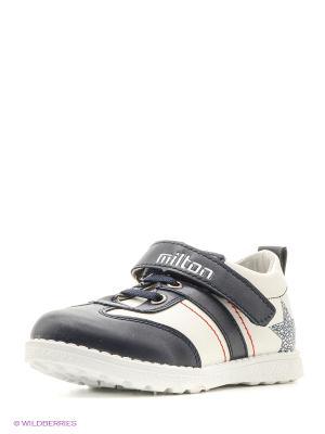 Ботинки Milton. Цвет: белый