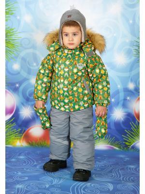 Комплект для малышей Little Boy. Цвет: зеленый, оранжевый