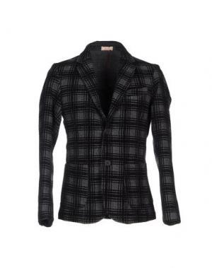 Пиджак D.R SHIRT. Цвет: свинцово-серый
