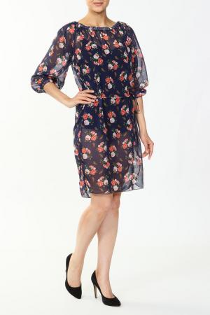 Платье Веста. Цвет: темно-синий