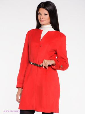 Пальто Acasta. Цвет: красный