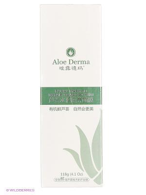 Маска для восстановления поврежденной кожи лица Aloe Derma. Цвет: прозрачный