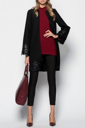 Пальто VAVIST. Цвет: черный