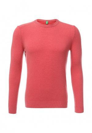 Джемпер United Colors of Benetton. Цвет: розовый