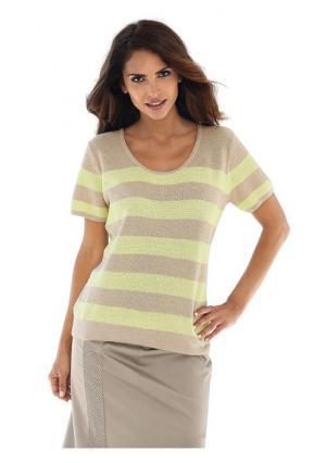 Пуловер Class International. Цвет: ванильный/песочный