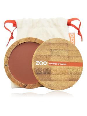Zao Румяна Компактные 321 (Персиково-Коричневый), 9 Г. Цвет: коричневый, персиковый