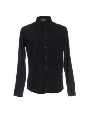Джинсовая рубашка CHEAP MONDAY. Цвет: синий