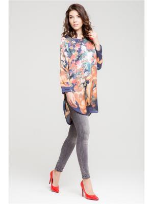 Блуза Vittoria Vicci. Цвет: синий