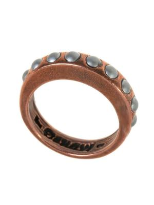 Кольцо Jenavi. Цвет: бронзовый, серый