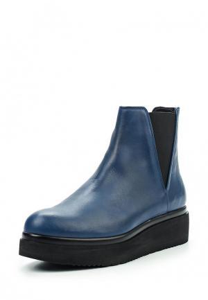 Ботинки Manas. Цвет: синий