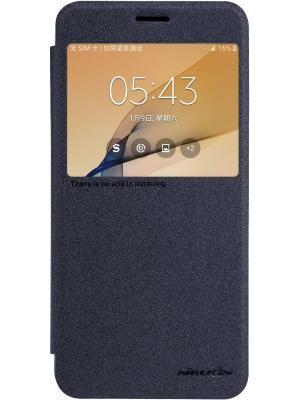 Чехол Nillkin Sparkle Leather Case для Samsung Galaxy J7 Prime. Цвет: черный