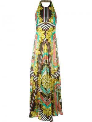 Платье без рукавов Marco Bologna. Цвет: многоцветный
