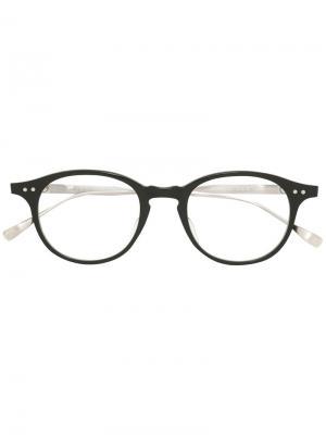 Очки Ash Dita Eyewear. Цвет: металлический
