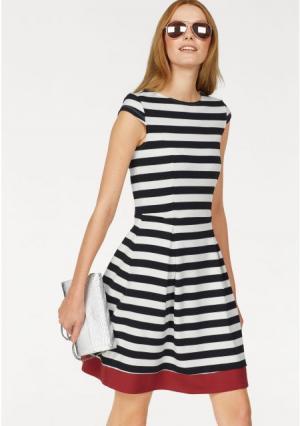 Платье BRUNO BANANI. Цвет: белый/черный