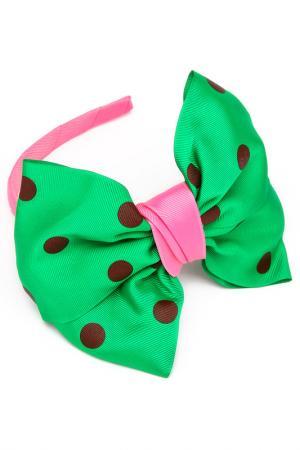 Ободок NICE GIRL. Цвет: розовый, зеленый, синий