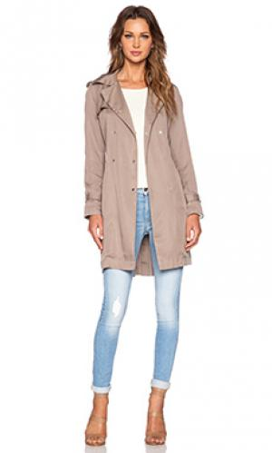 Куртка milia MKT studio. Цвет: серо-коричневый