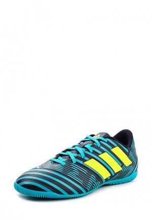 Бутсы зальные adidas Performance. Цвет: синий