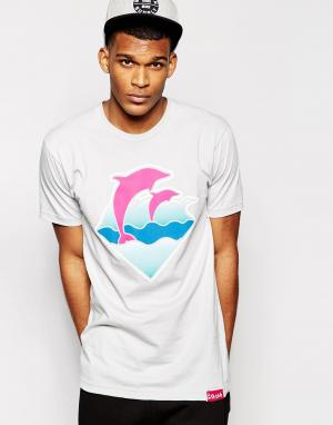 Pink Dolphin Футболка Waves