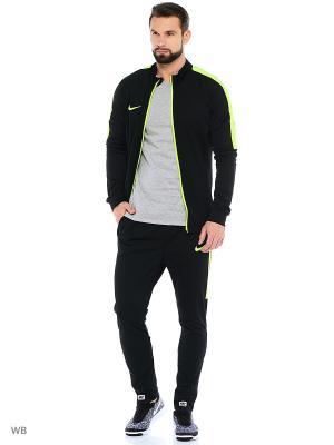 Костюм M NK DRY ACDMY TRK SUIT K Nike. Цвет: черный, салатовый