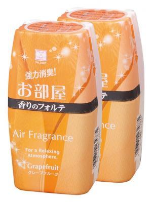 Air Fragrance фильтр посторонних запахов в комнате с ароматом грейпфрута 2шт. Kokubo. Цвет: оранжевый