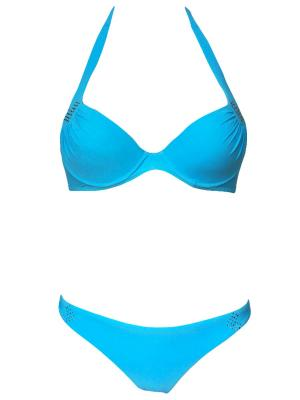 Купальник Jolidon. Цвет: голубой