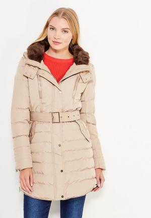 Куртка утепленная So Sweet. Цвет: бежевый
