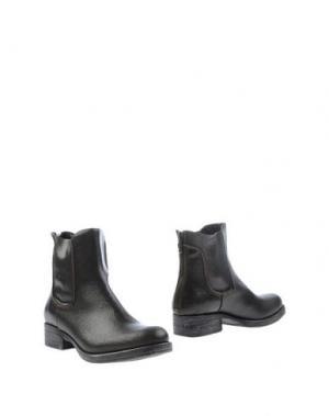 Полусапоги и высокие ботинки GRIFF ITALIA. Цвет: стальной серый