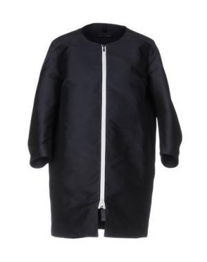 Легкое пальто AQUARAMA. Цвет: темно-синий