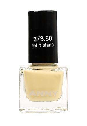 Лак для ногтей Anny. Цвет: желтый