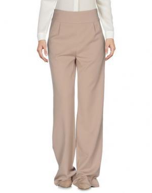 Повседневные брюки SUPERTRASH. Цвет: бежевый