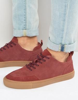 Zign Замшевые кроссовки. Цвет: красный
