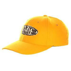 Бейсболка классическая детская  Oval Yellow Foundation. Цвет: желтый