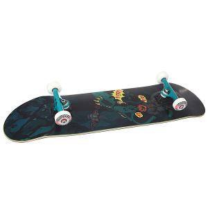Скейтборд в сборе  Octopus True Black/Green 8.25 (21 см) Nord. Цвет: черный,зеленый