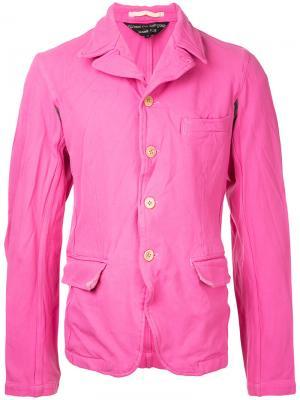 Пиджак Comme Des Garçons Vintage. Цвет: розовый и фиолетовый